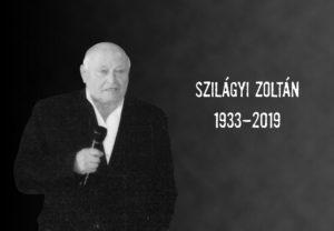 Szilágyi Zoltán 1933-2019
